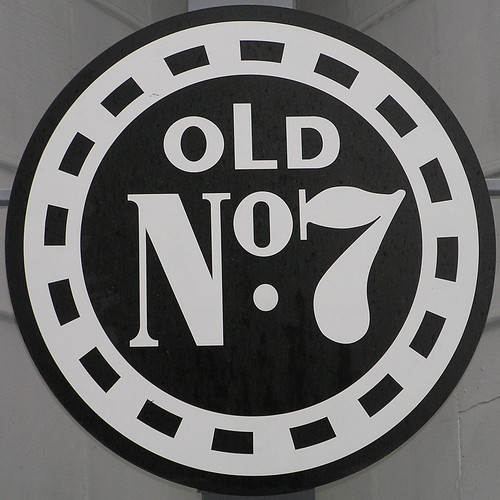 sign - old no 7