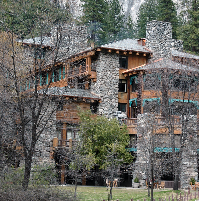 The Ahwahnee Hotel by Loyd Schutte