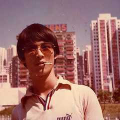 UncleLing in Victoria Park  (damonhendrix) Tags: life park portrait people hk man sunglasses vintage hongkong cool victoriapark cigarette uncle smoke awesome chinese handsome siemens victoria retro smoking nostalgia 80s cult puma  1980s polo causewaybay  kokdamon   waytoocool