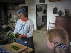 Showing the way (katrienberckmoes) Tags: showing way how make dinner old times museum bokrijk belgium cottage traditional clothing