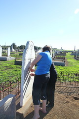 visiting ancestor - Michael O'Dea_9327 (gervo1865_2 - LJ Gervasoni) Tags: visiting ancestor michael odea tower hill cemetery 2016 kpc amg ckg south west victoria australia photographerljgervasoni
