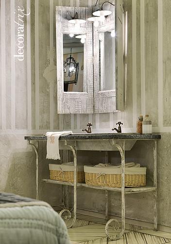 Griferia Baño Rustico:Muebles de baño, lavabos y griferías