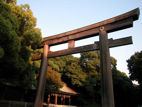 meiji jinja (shrine)