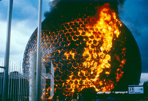 Biosphere on Fire