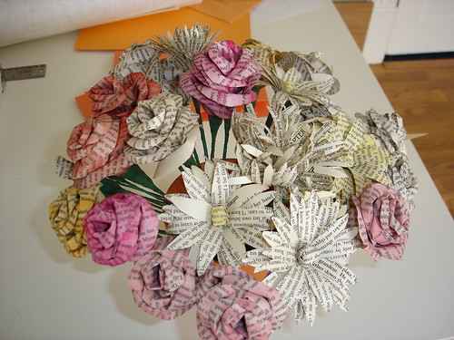 Paper Flower Bunch / Billie