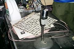 Radio Hiro (k.james) Tags: rockphotography dj noise radio alecempire kid606 lesser caseyrice designer kultbox blimpradio atariteenageriot tigerbeat6 chicago karlheinzessl essl indie indierock electronica drumandbass