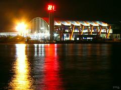 Night Terminal (Daniel Pascoal) Tags: reflection public water gua night reflex nightshot terminal guaruj dpg guaruja danielpg
