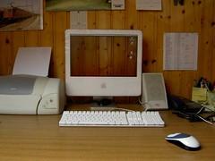 Transparent Screen - Wazzalex (w00kie) Tags: apple imac transparent screen snagged topv9999
