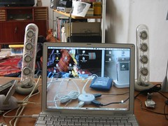 Transparent Screen - dru (w00kie) Tags: apple powerbook transparent screen snagged topv9999