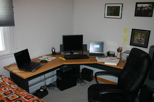 The computer setup