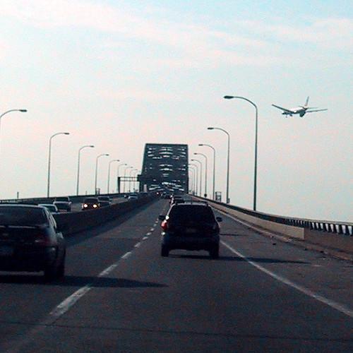 Plane Landing at Newark