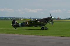 Spitfire @ Duxford, 2004 (artandscience) Tags: spitfire duxford england digital dc290 fighter