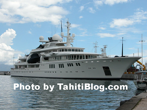 Paul Allen Yatch the quot;Tatooshquot;