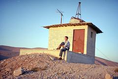 Syria - Deir Mar Musa - 14-31 (Jeff_Werner) Tags: travel sunset middleeast christian backpacking syria meditation solitary hilltop monastary jeffwerner