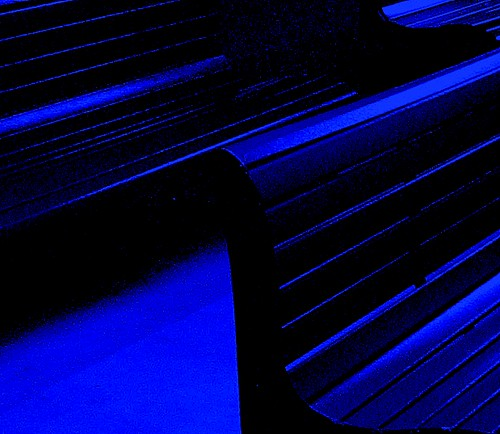 bench moonlight blue