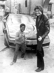 Best. Picture. Ever. (Vidiot) Tags: kitt knight rider gary coleman david hasselhoff 80s cheese