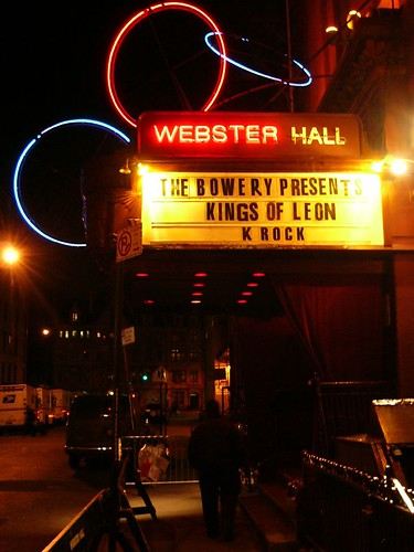 02-23-05 Kings of Leon @ Webster Hall