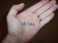 writing on your palm
