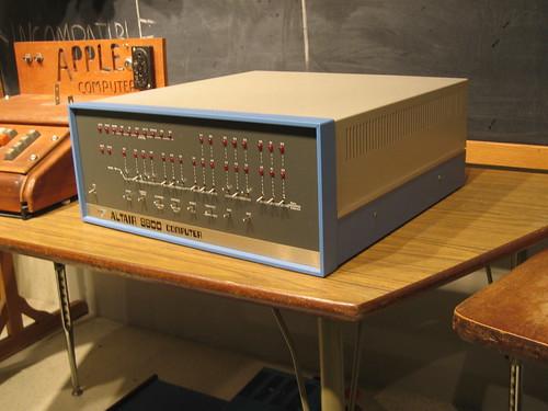 Altair 8800의 모습.