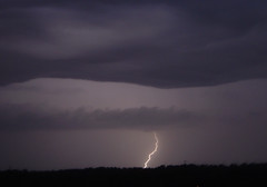 a single bolt (earthsound) Tags: sky storm topv111 night clouds 510fav wow ilovenature iso100 birmingham horizon flash alabama finepix bolt electricity fujifilm thunderstorm lightning severeweather a205 f48 hpexif 165mm 21ev 0385sec