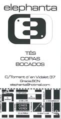 elephanta (Sibarites.com) Tags: tarjeta visita sibarites sibarita restaurant bar cerveseria flyer