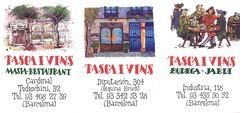 Tasca i vins (Sibarites.com) Tags: tarjeta visita sibarites sibarita restaurant bar cerveseria flyer
