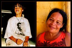 Diptych Wender's Mother (carf) Tags: street girls brazil abandoned boys brasil kids children hope community diptych child mother esperana social streetkids wender