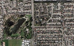 My childhood, seen by Google Maps (mathowie) Tags: history personal southerncalifornia placentia maps memorymap googlemaps