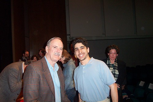 John Cleese and I