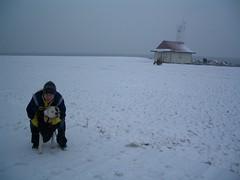 Winter Beach on Lake Ontario ~.