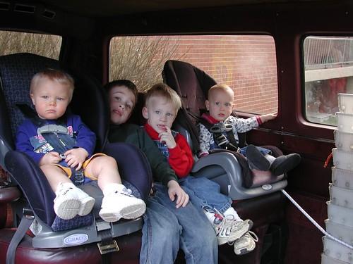 Familienauto: Auf der Rücksitzbank kann es schon mal eng werden.