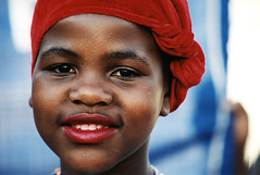 Smiling girl (Lil [Kristen Elsby]) Tags: africa portrait topf25 girl smile topv2222 southafrica child african johannesburg vacationography joburg