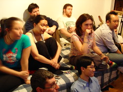Video Games & Tacos Party 2:  Kung Fu Hustle (buhny) Tags: nyc vgtacoparty videogames tacos kungfuhustle goodness ian lia jeffm thefang keledy frank dondon