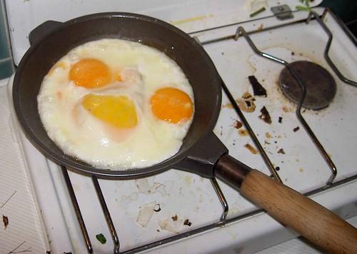 El aceite en la cocina