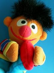 Ernie - Foot Fetish? (* Beezy *) Tags: toy toys sesamestreet ernie