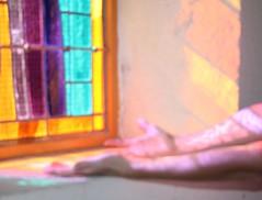 Praying for peace/World Ceasefire Vigil (Magali Deval) Tags: light 15fav lebanon church 1025fav 510fav interestingness war peace arms lumire prayer praying bretagne chapel stainedglass breizh vitrail pax vigil glise chapelle paix bras ceasefire prire prier interestingness366 i500 ceasefirevigil explore06aug2006