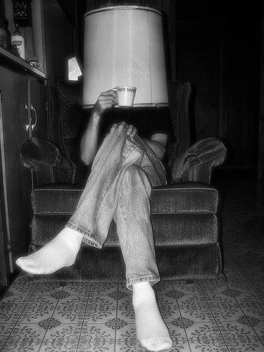 The Sophistication of Mr. Lamp-shade by DerrickT, on Flickr
