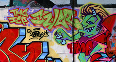 Dzyer (funkandjazz) Tags: sanfrancisco california tmc graffiti characters dzyer icp