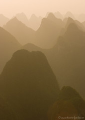Yangshuo sunset 3 (fish-bone) Tags: china sunset topv111 guilin yangshuo explore guangxi interestingness467 i500