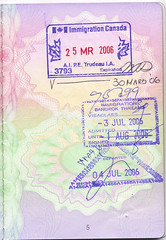 British Passport, Canada, Thailand