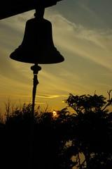 """Bell on """"Lover's Cliff"""" (Sakura0213) Tags: sunset japanhdr"""