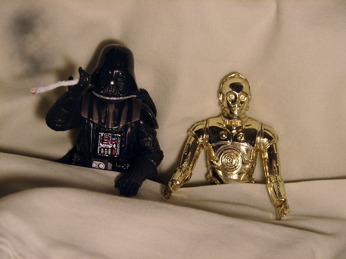 Darth Vader c3po in bed