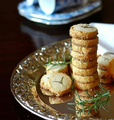 Rosemary Butter Cookies (Vita Arina) Tags: food cookies nikon d70 herbs desserts rosemary