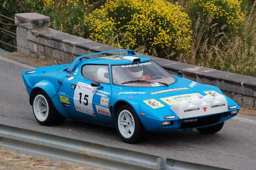 Blue Lancia Stratos #2