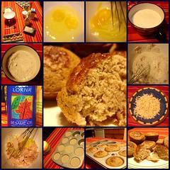Muffin sarazin jambon fromage - by Etolane
