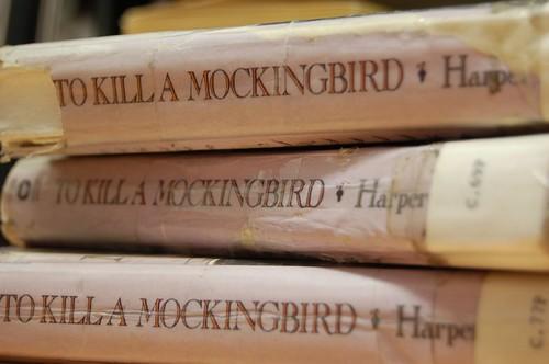 To Kill a Mockingbird by Harper Lee, book.