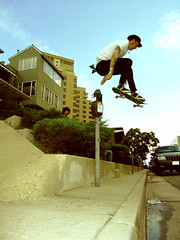 Gareth Stehr ollie meter Denver,CO (It was the light, it was the angle) Tags: color digital canon skateboarding parking denver powershot ollie skate co skateboard meter gareth sk8 s70 skateboarder ineeddadrink stehr