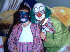 Family Holiday ( Jimmy MacDonald ) Tags: family facepainting holidays 1987 butlins ayr clowns macdonald lauramacdonald