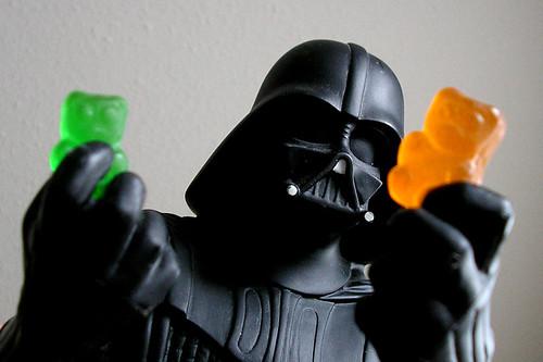 Darth Vader dubitativo