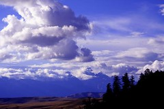 The Tetons (skyscraper2290) Tags: clouds outdoors moutains jacksonhole inthewest jacksonholewyoming
